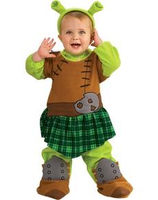 Fato de Princesa Fiona de Shrek para bebé
